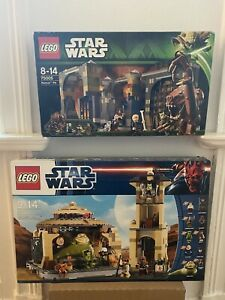 LEGO StarWars Jabba's Palace (9516) mit Rancor Höhle (75005) OHNE FIGUREN