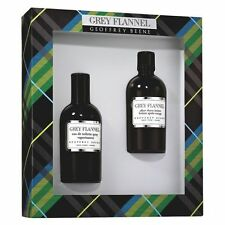 Grey Flannel Geoffrey Beene 2 Teile Set 120ml EDT+120ml After Shave Lotion OVP