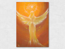 """Angel pictures-Art Photo """"The Heart Knows"""" Mural with Heart, Kinder Gift"""