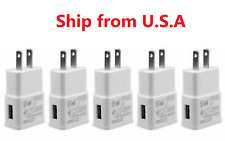 Lot of 2A USB Power Adapter AC Home Wall Charger US Plug For Samsung LG Kindle