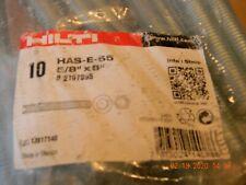 """10 Hilti Has-E-55 5/8"""" X 8""""# 2197995"""