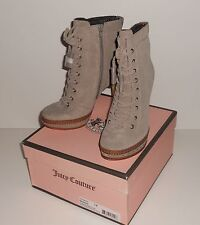 Juicy Couture Madras Bootie on Nude Size 7 NEW with Box and Dust Bag**