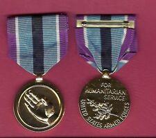 Humanitarian Service Anodized Award medal