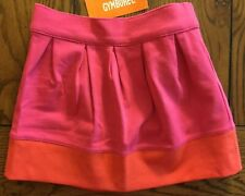 NWT Gymboree Girls Valentine's Day 2015 Colorblock Be Mine Magenta Skirt Size 5