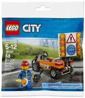 Lego City 30357 - Vehicule chantier avec figurine, Road Worker polybag