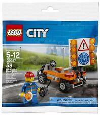 Lego City 30357 - Vehicule chantier avec figurine, Road Worker polybag