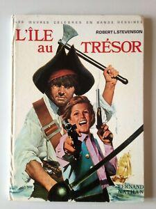 L'ILE AU TRESOR FERNAND NATHAN 1974 ILLUSTRATIONS RAMON DE LA FUENTE