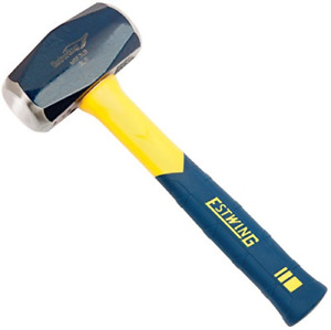 Estwing Sure Strike Drilling/Crack Hammer - 3-Pound Sledge with Fiberglass & -