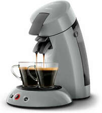 PHILIPS Original Senseo HD6553/70 Kaffeepadmaschine grau 1450 Watt