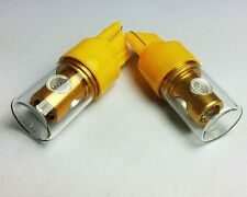 W21W 7440 T20 AMBER YELLOW 14W HIGH POWER CREE LED REAR INDICATOR CAR BULBS A