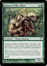 SAKURA-TRIBE ELDER Champions of Kamigawa MTG Green Creature — Snake Shaman Com