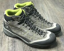Scarpa Mens Hiking Boots Size 11 2/3 Zen Pro Mid GTX Grey