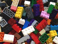 ❤NEW❤ LEGO Asstd Bricks 2X2 2X3 2x4 Mixed Colours (Pk of 100)