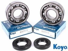 Kawasaki KXT 250 Tecate 1987 Koyo Mains Crank Bearing & Oil Seal Kit