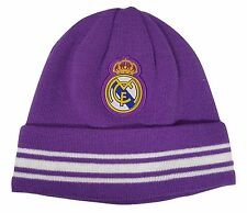 c6bd03cdb12 Unisex Beanie Hat Real Madrid Soccer Team Official Navy Blue One Size Fit  All