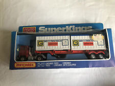 Matchbox Super Kings K-17 Container Truck Lesney Production 1978 made in England