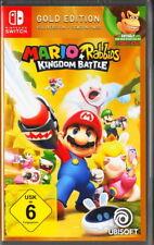 Mario + Rabbids: Kingdom Battle-Gold Edition-Nintendo switch-nuevo & OVP