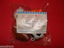 Set of 4 Sport Whistles New in Package Soccer Baseball Football Basketball