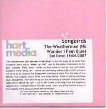 (AF16) Songbirds, The Weatherman - DJ CD