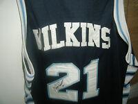 Dominique Wilkins signed jersey autographed high school atlanta hawks size 58