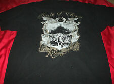 TASTE OF CHAOS 2006 Tour Tee Shirt XL  THE DEFTONES SILVERSTEIN