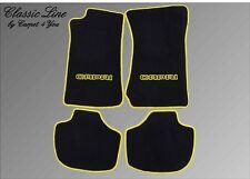Ford Capri 2 Autoteppiche Fußmatten 74-77´ Gelb Autoteppich,Teppich,Fussmatten