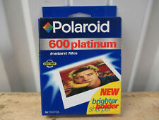 VINTAGE POLAROID 600 FILM INSTANT FILM NEW IN UNOPENED BOX EXPIRE 10/99 SOLD AS