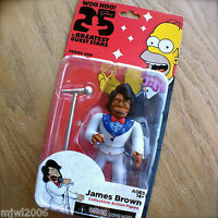 """THE SIMPSONS 25 Greatest JAMES BROWN Guest Stars Series 1 Action Figure NECA 5"""""""