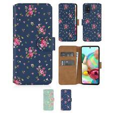32nd Serie Floral 2.0 - Funda tipo Libro de Piel PU - Samsung Galaxy A71 (2020)