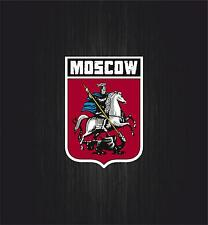 Sticker decal coat of arms car shield helmet flag russia russian moscow travel