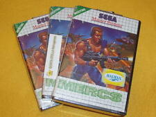 Mercs SEGA Master System Game Euro PAL Version