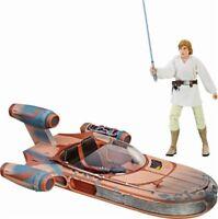 Star Wars - The Black Series Luke Skywalker Landspeeder & Figure