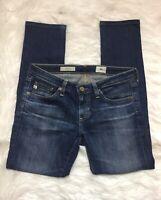 AG Adriano Goldschmied Stilt Cigarette Skinny Jeans Sz 26 Cropped