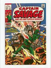 Captain Savage and His Battlefield Raiders #13 Marvel Comics 1969 VF-