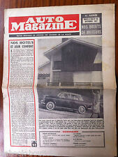 Auto Magazine n°105 du 12/1957; Dompter le Bruit/ Ardèche et Vivarais/ 2 CV