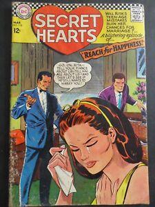 Secret Hearts #118 ~ (1967 DC) ~ Gene Colan cvr & art~ GD