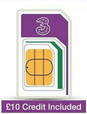 Three Trio Pay As You Go Standard Sim Pack