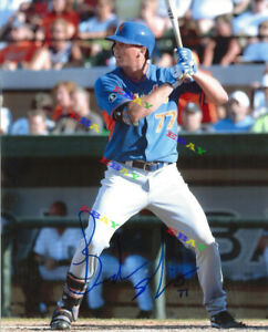BRANDON NIMMO NEW YORK METS Autographed Signed 8x10 Photo Reprint