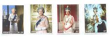 Jersey-Queen Elizabeth II-Longest Reigning Monarch set 2015 mnh-Royalty