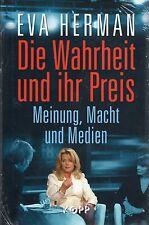 DIE WAHRHEIT UND IHR PREIS - Eva Herman BUCH - KOPP VERLAG