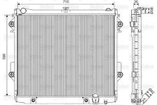 Engine Cooling Radiator VALEO Fits TOYOTA Land Cruiser Suv 4.7L 2008-