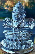 God Ganesha Ganpati Resin Statue 4.5 Inches Height for home / office USA Seller