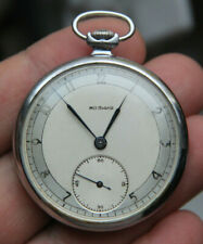 FOOTBALLERS Pocket WATCH MOLNIA refined case SLIM Early 50 years HOMAGE-MARIAGE
