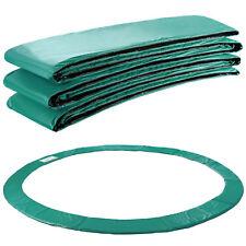 Arebos Coussin de protection des ressorts pour trampoline 457cm vert