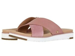 Authentic UGG Brand Women's Kari Cross Strap Sandals Slipper Shoes Many Colors