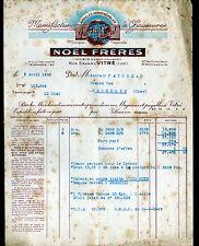 """VITRE (35) USINE de CHAUSSURES & ARTICLES IMPERMEABLES """"NOEL Freres"""" en 1950"""