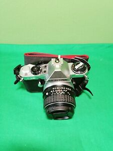 Pentax ME Super Analog 35mm Film Kamera + Asahi SMC Pentax 50 mm F/1.4 Objektiv