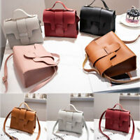 Women Shoulder Bag PU Leather Envelope Crossbody Messenger Handbag Purse Fashion