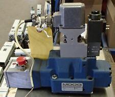 MOOG Proportional Valve Model: D662Z760A w/Part: D061-711C Pilot Valve