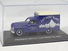 Ixo Stampa 1/43 - Peugeot 203 C8 Latte Monte Bianco